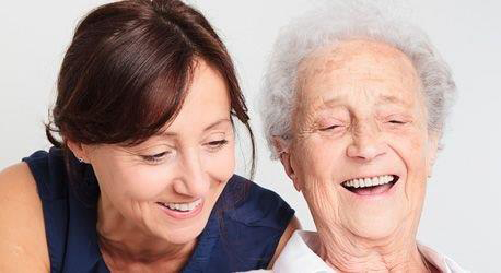 Live-In Care Worker with elderly Live In Client