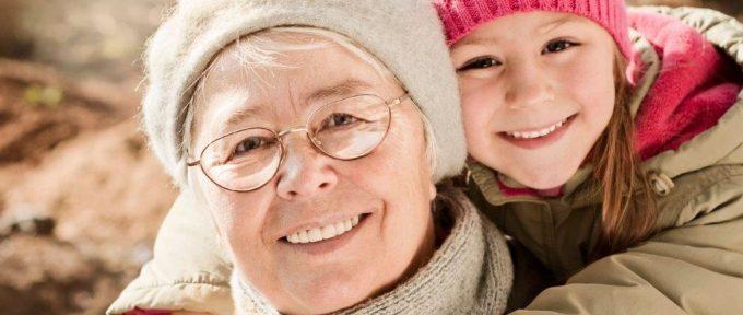 website - woman with grandchild